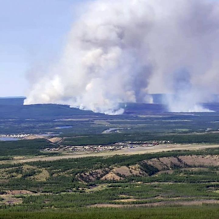 Batagai area fires