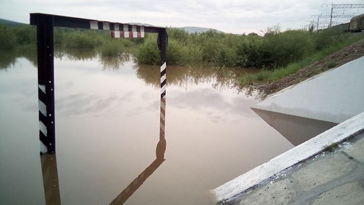 Flood in suburbs