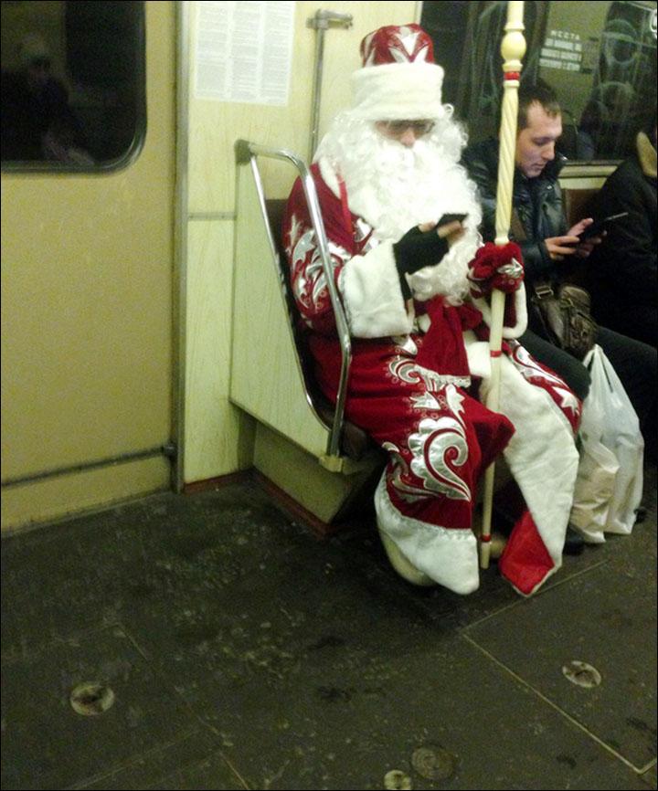 Mammoth Santa