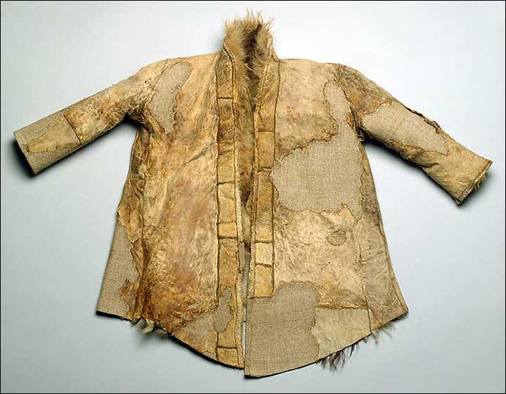 Children's fur coat