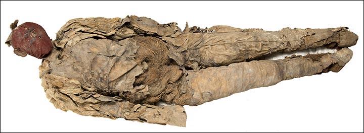 Burial mannequin