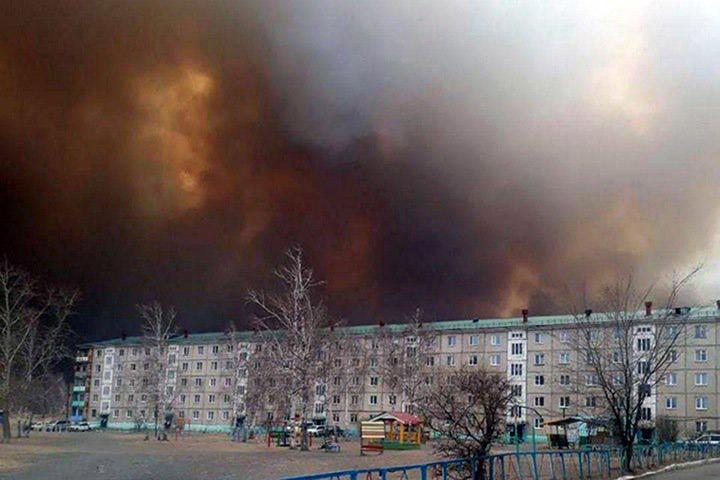 TransBaikal wildfires
