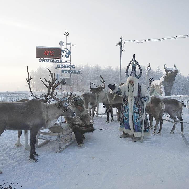 Chyskhaan in Oymyakon